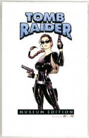 Tomb Raider Journeys #4 Adam Hughes Latex Variant Museum Edition COA Ltd 50 Jay Company Comics